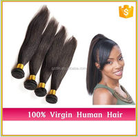 D&L Highlight Long Straight Hairstyles For Girls Silk Top Remy Hair 18inches