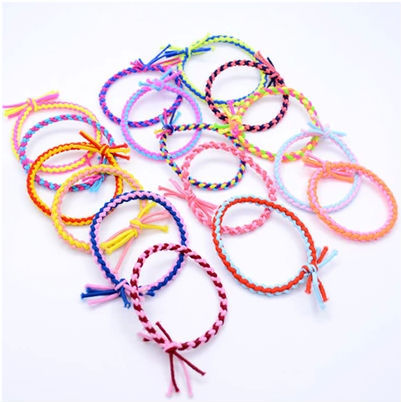 personalized hand braid lucky wristband women simple bracelet jewelry