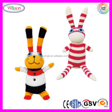 A905 Cute Bunny Sock Doll Stuffed Soft Handmade Sock Doll with PDQ
