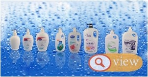 new shampoo bottle 200ml shower gel bottle