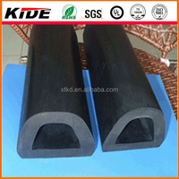 boat D type rubber fenders D fender rubber cylindrical rubber fenders