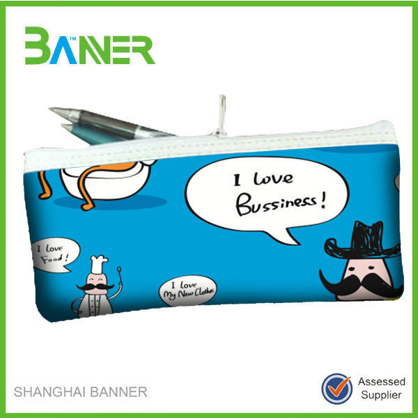 Student Liked Customized Color Pencil Bag