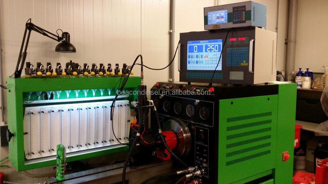 New design BC3000 used diesel fuel injection pump  test bench for fuel injection pumps