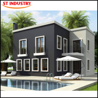 2016 the latest design low cost the prefab house