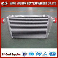 Aluminum Brazed Bar and Plate Motorcycle Oil Cooler Radiator