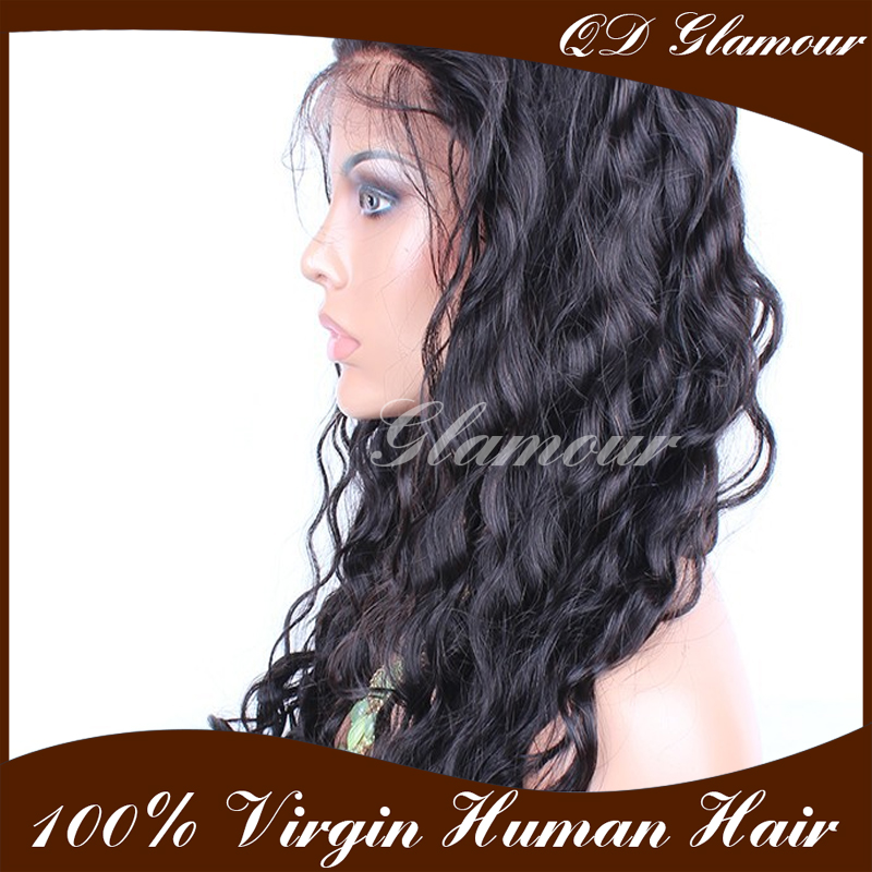 lace front Factory Wholesale 100% Unprocessed Virgin wigs for black women lace Wigs human hair