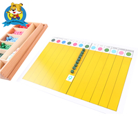 Factory directly support Mathematics Montessori Materials wholesale Decimal Fraction Board