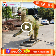 Theme Park Mechanical Cool Animal Toy Ride Animatronic Dino Rides for Kids