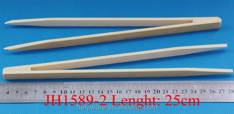 25cm Bamboo ESD Forceps antistatic Tweezer