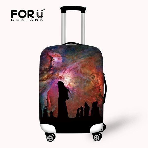 "22""/<strong>24</strong>""/26"" Stylish Waterproof Polyester Suitcase Cover"
