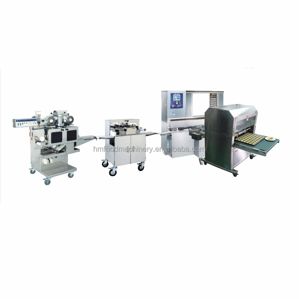 HM-168 / HM-101A / HM-203 Pineapple / Moon Cake / Maamoul Processing Line