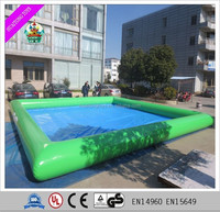 Green giant square inflatable swimming pools inflatable pool rental