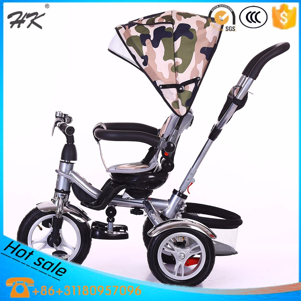 2016 high quality foldable standard children tricycle/pedal car
