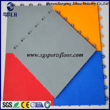portable volleyball court sports flooring tiles standard size for basketball court