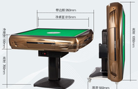 2015 hot sale La-MJ89 electric mahjong table/ automatic majiang table