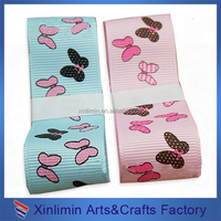 Customized colorful amazing ribbon for gift packaging with different design
