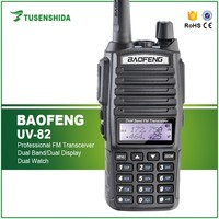 Best selling Factory cheap 8KM Transceiver Baofeng UV-82 Handheld Digital two way radio TransceiverUHF&VHF interphone radio