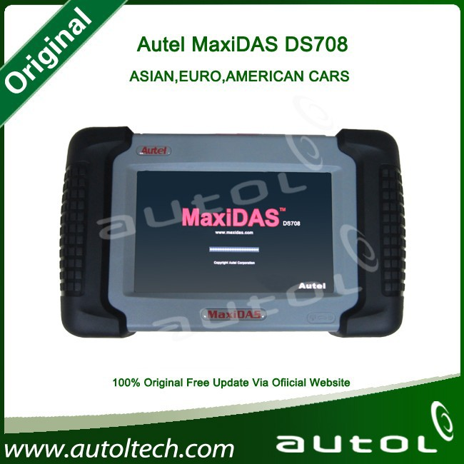 Car Diagnostic Machine MaxiDAS DS708 OBD Diagnostic Multi-language OBD2 Japanese Car Scanner for more than 40 vehicles