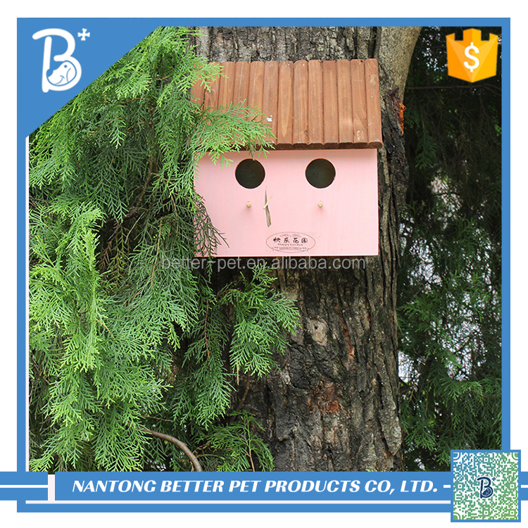 lovely wooden bird house for sale/pet house/craft bird house
