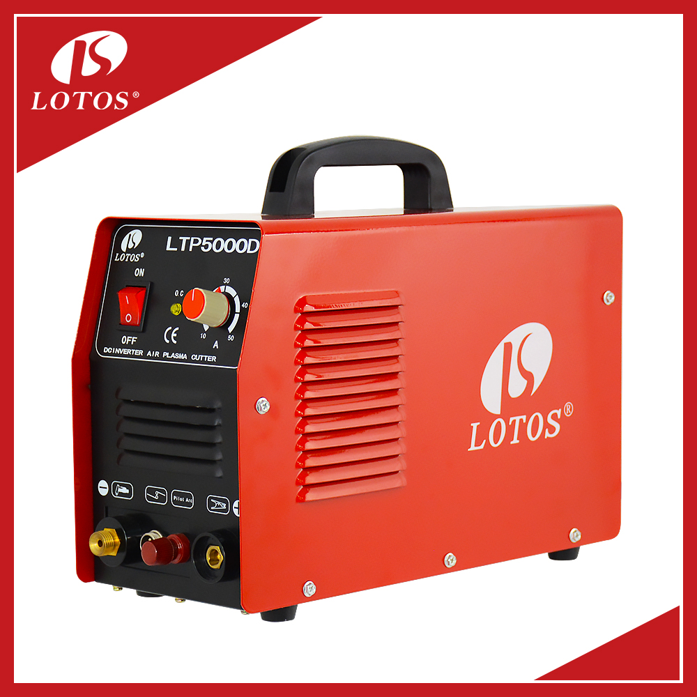 Lotos LTP5000D Low Offer Cut 40 Portable MOSFET Type DC Inverter Air Plasma Cutter With CE CCC