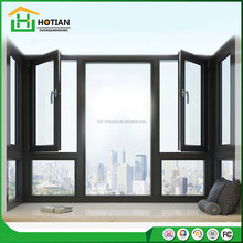 American popular style mullion casement sash aluminum thermal insulation profile window