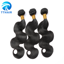 Free Shipping Thick Human Hair Extensions Brazilian Virgin Remy Human Hair Body Waves Bundles