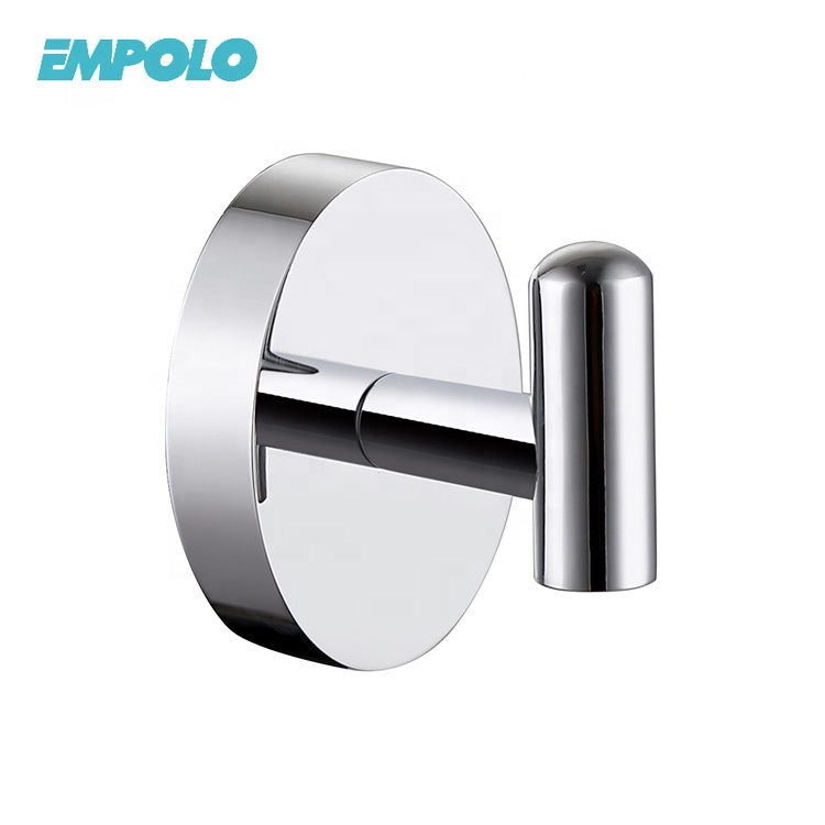 Wall Mount Bathroom Accessory Metal Brass Clothes Robe Hook
