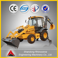 backhoe loader 0.3/1.0m3 small garden tractor, cheap loader backhoe well price and high quality