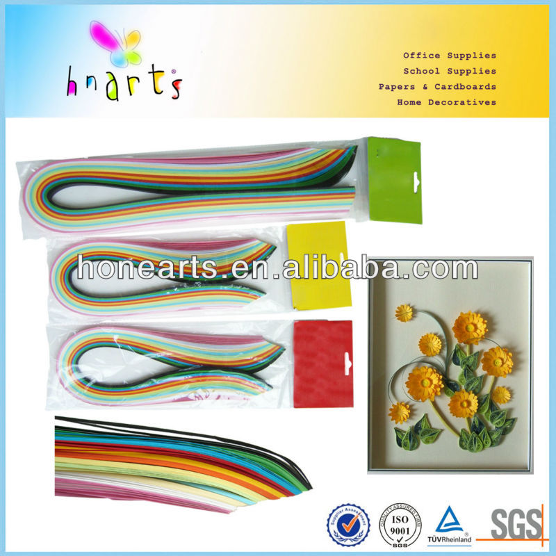 160gsm color paper of paper quilling pen/paper quilling pen for craftwork