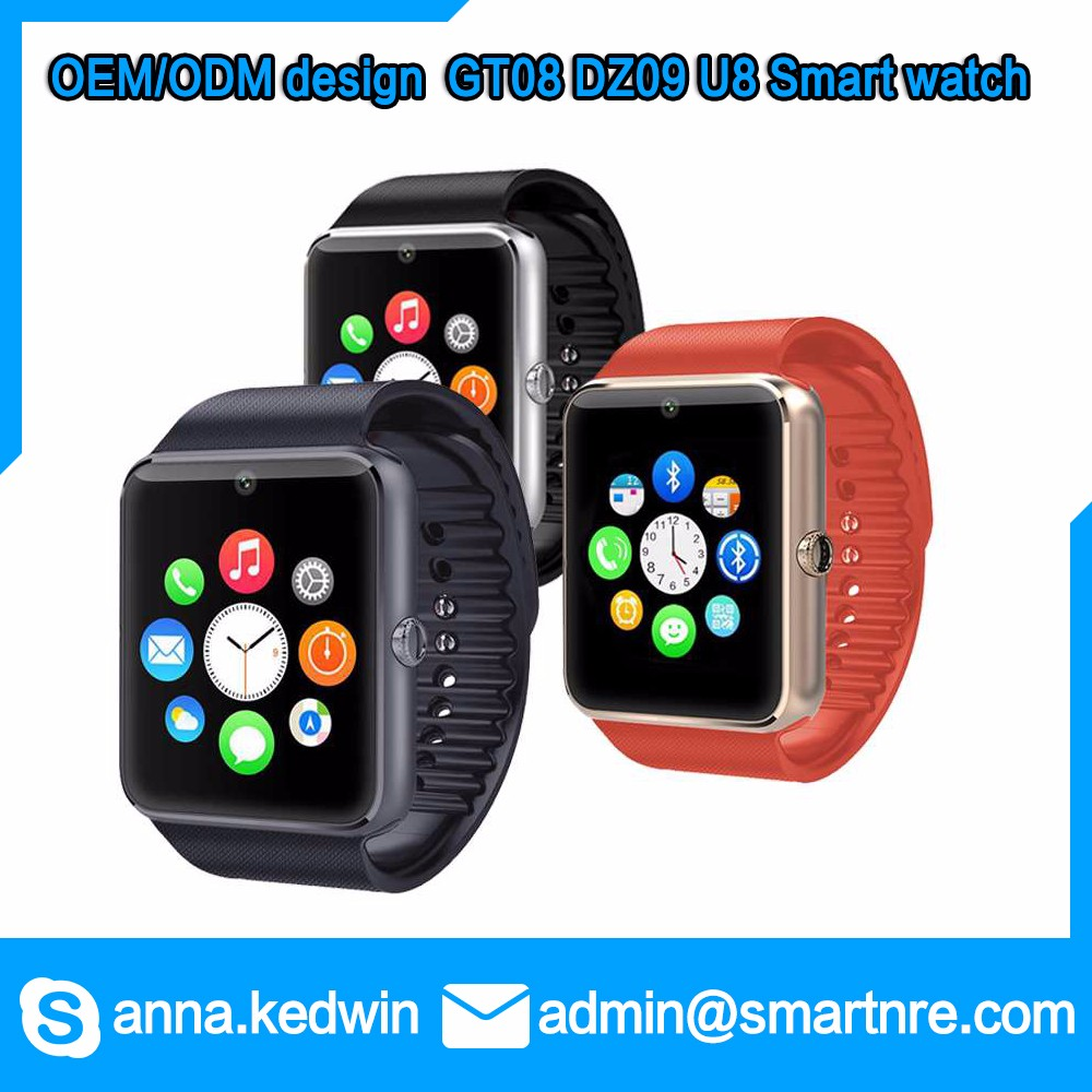 China Supplier OEM ODM new project supported DZ09 U8 GT08 smart watch