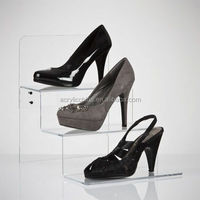 Factory direct wholesale acrylic shoe display case,acrylic shoe display stand