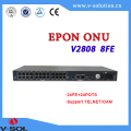 FTTH GEPON high performance MDU 24FXS+24POTS