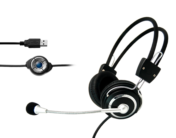 VOIP Computer USB Headset Usb-09