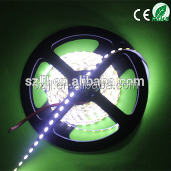 High quality 12v 5 meter 3014 pure white led strip with 60leds/<strong>M</strong>