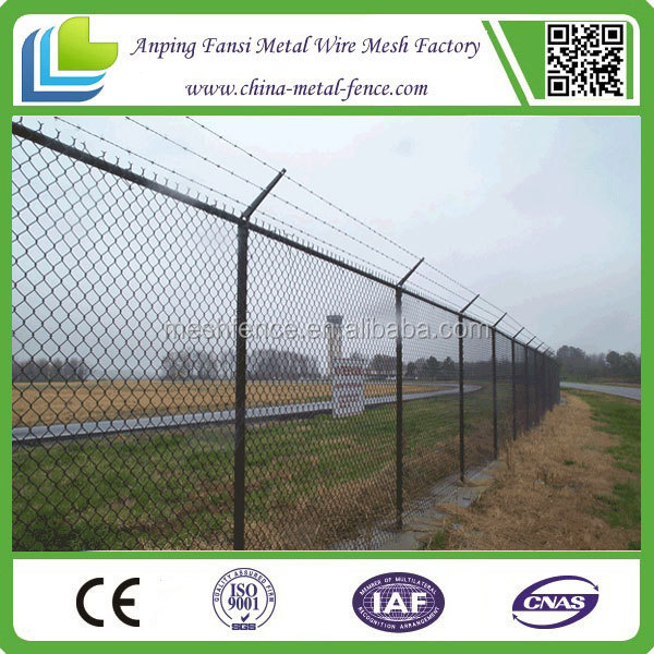 photo xxx industrial building site enclosures 1 inch chain link fence china supplier