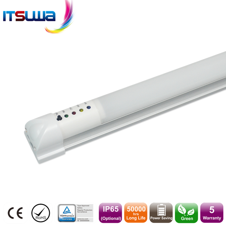 Built-in driver 5 years warranty t8 emergency led tube light with 90 minutes