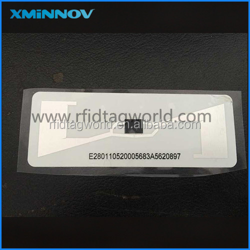 Long range RFID UHF Passive Destructive Vehicle Windshield Glass Sticker