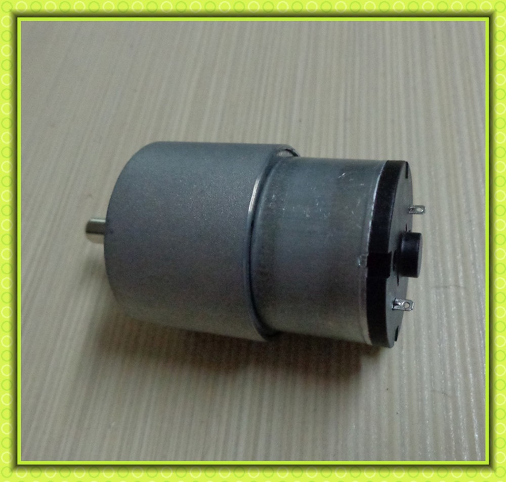37mm gearbox metal gears high torque 12v 24v dc motor for animal feeder