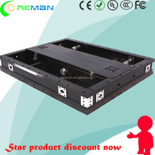 advertising equipment 3D 4D xx hd video led tv screen rental p5 / 576x576 led cabinet for rental display