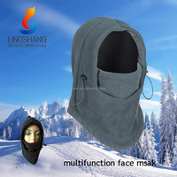 Outdoor winter Fleece hood helmet,face mask balaclava,caps and hats