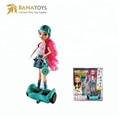 2018 girls rc hoverboard remote control doll