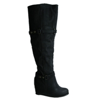 Fashion sexy women wedge winter boots