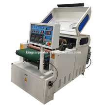 Double-head broad wide belt sander/sanding machine