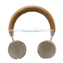 Fashion Gold Wireless Bluetooth Gaming headset