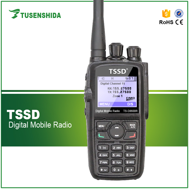 TS-D8600R dmr handheld mobile radio better than tytera tyt md 380/md 390