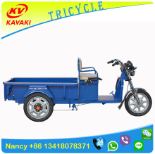 Guangzhou kavaki electri tricycle factory sale village farm cargo three wheel electric vehicle