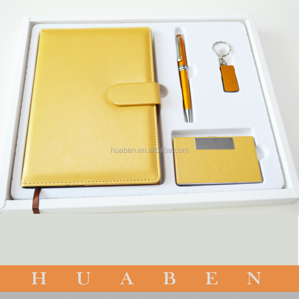Luxury promotional business office stationery gift set