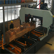 Hydraulic Automatic Wood Cutting Horizontal Band Sawmill