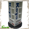 Plastic Rotating Display Stand , Floor Standing Acrylic Display