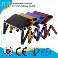 Folding Table Stand for Notebook Laptop with Mouse Holder Portable Bed Tray